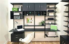 Image Contemporary Home Office Shelving Solutions With Adjustable Shelves Bistro Office Shelving Ideas Bistro