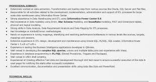 Informatica Developer Resume Page Website Picture Gallery Teradata New Teradata Resume Sample