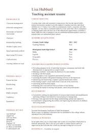 Teacher Assistant Resume Job Description - Teacher Assistant Resume Job  Description we provide as reference to