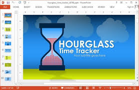 Hourglass Chart Excel Animated Hourglass Template For Powerpoint