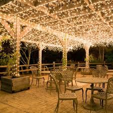 covered patio lights. Hang White Icicle Lights To Create Magical Outdoor Lighting. This Idea Works Well For Decks Patio And Covered Porches. Imagine These \u2026 B