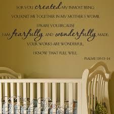 fearfully wonderfully psalm 139 13 14