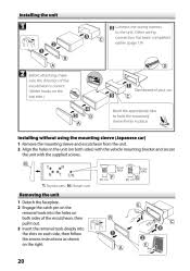 kenwood kdc 352u instruction manuals page 18 type your new search above