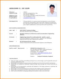 New Resume 20 Enjoyable Ideas Format 6 Download 2012 Examples 8