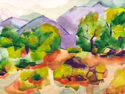 paintings done in secondary colors - Google Search
