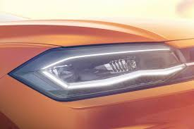 2018 volkswagen new models. interesting models new 2018 volkswagen polo india front headlights in models
