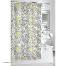 gray white shower curtain creative decoration sheer fabric