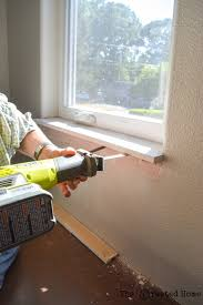 window trim deconstruction
