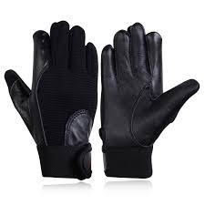 details about kids junior child leather gloves cycling running scooter horse riding gloves