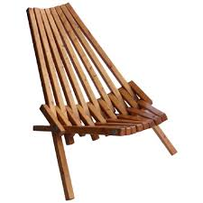 foldable wooden chairs mid century wood folding lounge chair for sal on wood folding chair plans