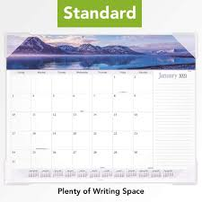 Customize each page with text and/or icons such as stickers or washi tape before you print. 2021 Desk Calendar By At A Glance Panoramic 89802 21 Monthly Desk Pad Standard Landscape 21 3 4 X 17 Office Products Desk Accessories Workspace Organizers Sostulsa Com