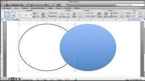 Powerpoint 2010 Venn Diagram Making A Venn Diagram Word For Mac Youtube