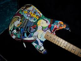 Guitar Body Paint Designs The 22 Most Outrageous Guitar Finishes On Reverb Right