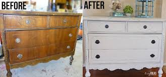 chalk painted dresser ideas with stained top images for paint pictures before and after