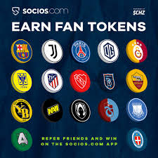 Socios.com - 🙌 Earn Fan Tokens of your choice Invite your friends to  download the Socios app & gain points for every referral. Be amongst the  top 3 referrals and win up