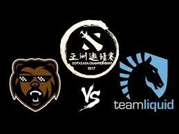 b ears vs team liquid live dota 2 asia championships 2017 eu