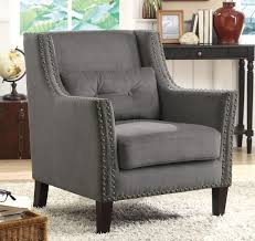 grey accent chair  gallery image lautarii