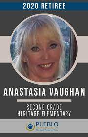 """Pueblo School District 60 on Twitter: """"(16/34) Anastasia Vaughan, Heritage  Elementary From her colleagues: """"Mrs. Vaughan has selflessly given her time  to support the Heritage community for over two decades. Mrs. Vaughan IS  Heritage.""""… https://t.co ..."""