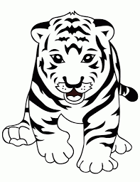 Small Picture Tiger Coloring Pages Tiger TigerColoringPages