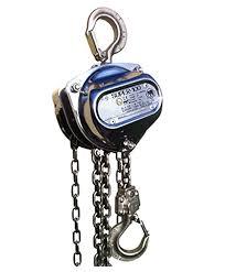 atex hoist spark resistant manual chain hoist ergonomic partners spark resistant manual chain hoist
