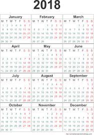2018 calendar printable free blank calendar 2018 weekly calendar template