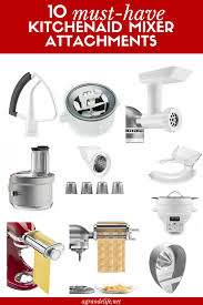 kitchenaid new attachments. 10 must-have kitchenaid mixer attachments kitchenaid new e