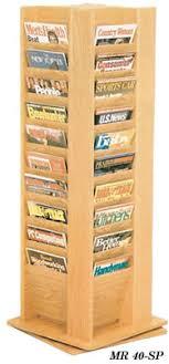 magazine racks for office. Magazine Racks For Office. Rotating Oak Display Racks, Office M S
