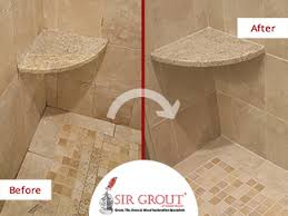 how to clean stained grout. Interesting Grout Heavily Stained Shower In Acton Ma Is Improved With A Grout Cleaning And How To Clean T
