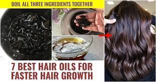 7 best hair oils for faster hair growth