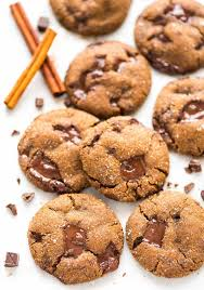 perfect soft and chewy chocolate ginger moles cookies dark chocolate and fresh ginger make this