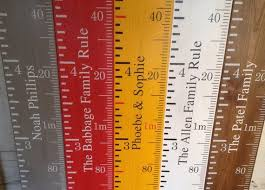 Wooden Ruler Height Chart Uk Handmade Height Chart Ruler In 2019 Make It Height Chart