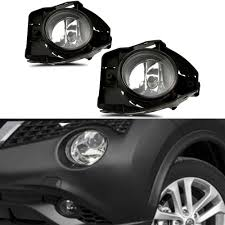 Nissan Juke Fog Light Bulb Replacement Amazon Com Cciyu Projector Clear Lens Pair Set Of Fog Light