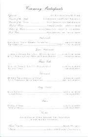 Booklet Program Template Free Catholic Wedding Program Template Graphic Design