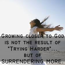 Image result for pictures of people surrendering to God's will