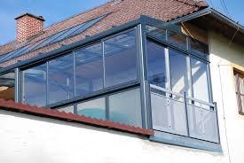 Wintergarten Balkon Anbau Verglasungen Balkon Terrasse