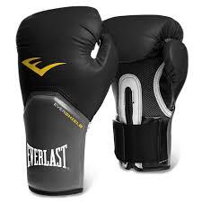 Details About Everlast Elite Boxing Training Gloves Black Grey Mma Muai Thai Gym Fitness