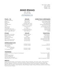 Beginner Resume Impressive Beginners Resume Template Beginner Resume Templates Sample For