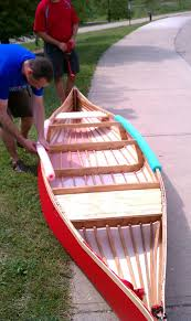 picture of skin on frame canoe