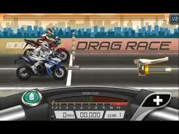drag bike racing mod versi indonesia youtube
