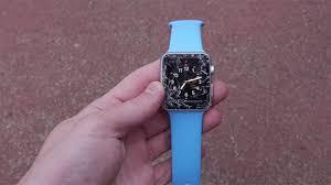 smashed iwatch