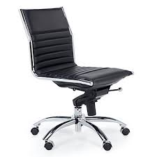 malcolm office chair. malcolm armless chair - black office o