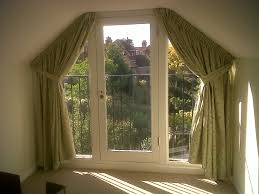 how to install bay window curtain rods effectively wall inspirations image of double
