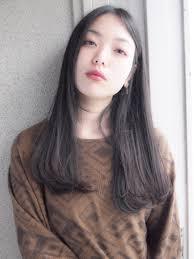 黒髪ロングは前髪なしで垢抜け女子になれる魔法のヘアhair