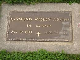Raymond Wesley Adkins (1933-1994) - Find A Grave Memorial