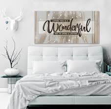 bedroom decor wall art loving you a lifetime