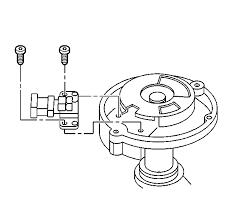 99 suburban the camshaft position sensor flywheel chain graphic