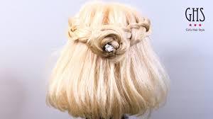 浴衣に似合う髪型編み込みヘアアレンジのやり方8選 Coolovely