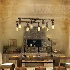 bar chandeliers lighting 8 light industrial style lighting fixtures bar counter for stylish property industrial style