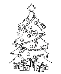 Free Christmas Tree Coloring Pages Printables Free Tree Coloring