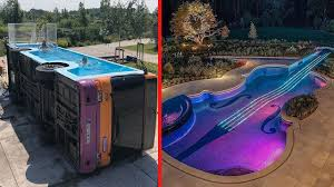 Unique Swimming Pool Designs Most Amazing Swimming Pools Ever Craziest Pool Designs